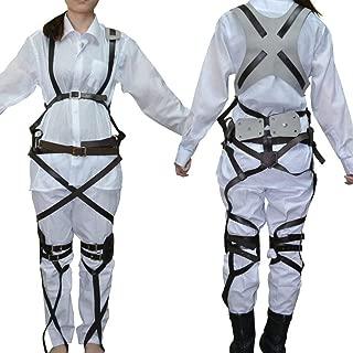 Attack On Titan Harness Shingeki No Kyojin Recon Corps Belt Hookshot Costume