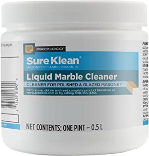 PROSOCO Liquid Marble Cleaner - Polished stonework and glazed masonry cleaner and restorer - Trusted by Professionals