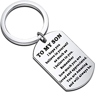 Best to my son believe in yourself dog tag Reviews