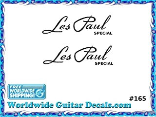 Gibson Les Paul Special Guitar Decal Headstock Waterslide Restoration logo 165