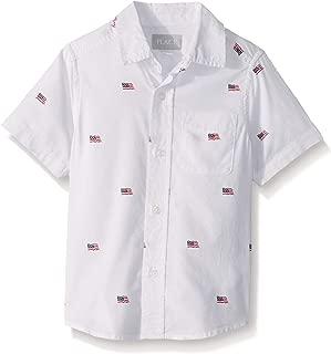 Boys' Big Short Sleeve Uniform Oxford Shirt