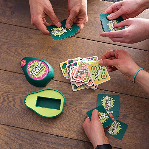 Ridley's AGME001 Avocado Smash! 71Piece Family Action Card Game with Storage Case, Multicolor