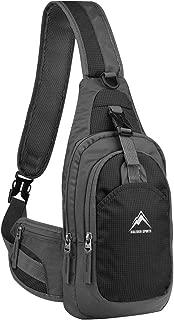 MALEDEN Sling Bag, Shoulder Backpack Chest Pack Causal Crossbody Daypack for Women Men