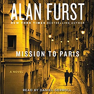Mission to Paris audiobook cover art