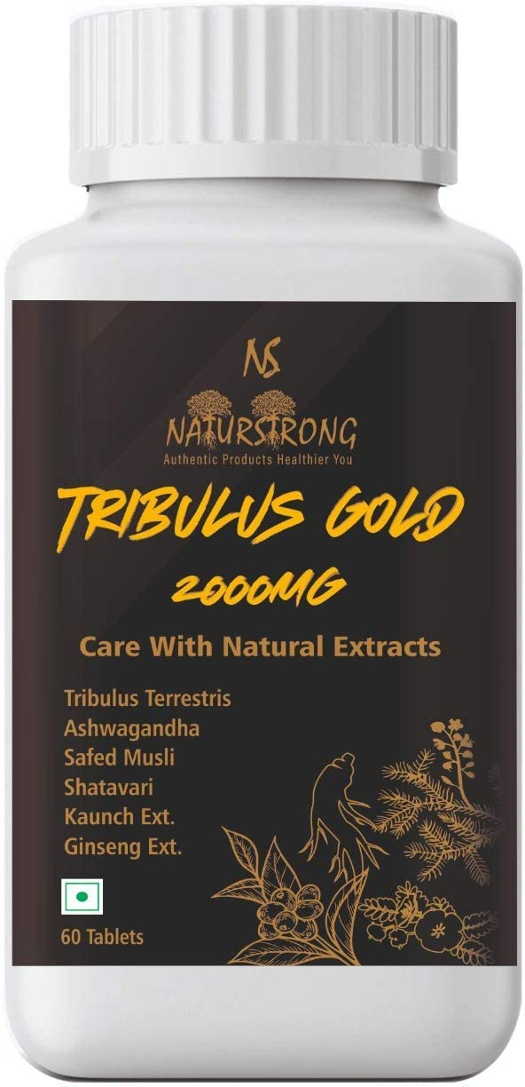 Organic Touch Tribulus Gold 2000mg Limited time sale Testosterone Men for New item Booster