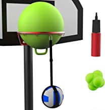 Volleyball Spike Trainer Basketball Hoop - Great Home Training Equipment for Improving Spiking, Jumping and Arm Swing Mech...