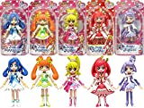 Bandai Glitter Force PreCure doki doki PreCure Pretty Cure 5 Figure Doll Set Korea New