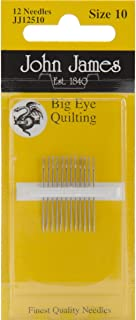 Best john james quilting needles size 10 Reviews
