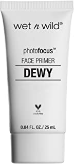 wet n wild Photo Focus Dewy Face Primer, Till Prime Dew Us Part, 0.84 Ounce
