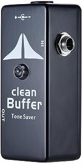 Mini Clean Buffer Guitar Effect Pedal Tone Saver Zinc-Aluminium Alloy Body
