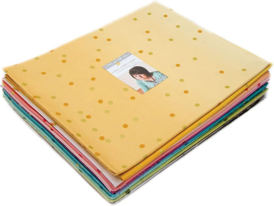 V and Co Ombre Confetti Metallic 20 Half-Yards Moda Fabrics 10807HYM