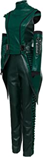 Women's Mantis Cosplay Costume Leather Full Set Suit