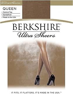 Women's Plus-Size Queen Ultra Sheer Control Top Pantyhose 4411