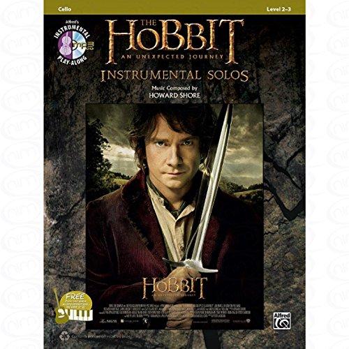 The Hobbit - Un viaje inesperado - organizado para cello - con CD [hoja de música] Composer: SHORE HOWARD de la serie: SOLOS INSTRUMENTAL