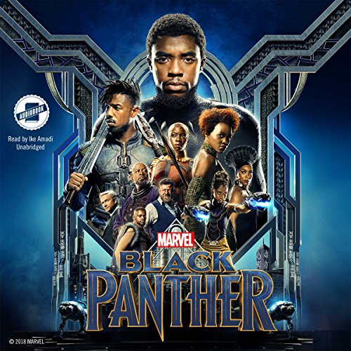 Marvel Black Panther audiobook cover art