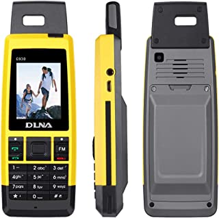 Rugged Cell Phones Unlocked, Topsma GSM Military Smartphone Waterproof Shockproof and Dustproof Mobile Phone Dual SIM (Yellow)
