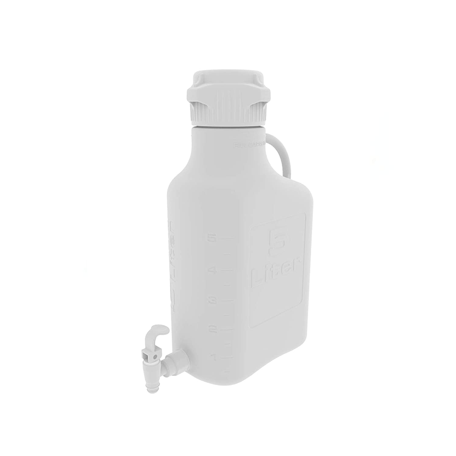 Ranking TOP13 EZgrip 5L 1 Gal HDPE Space Saving Spigot Leakproof with Carboy Be super welcome