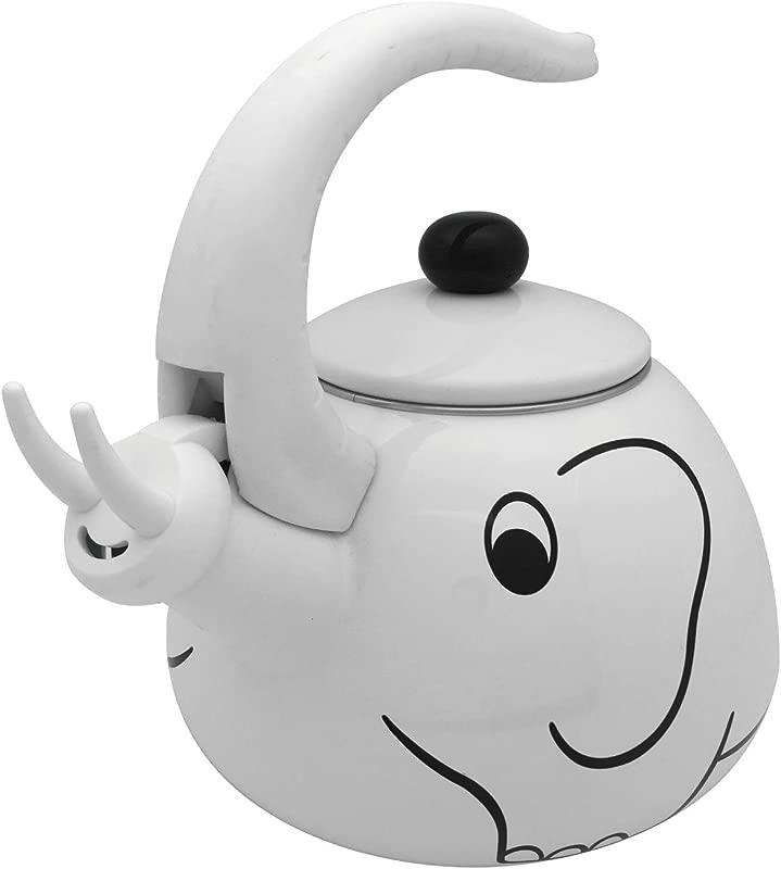 Supreme Housewares Whistling Tea Kettle White Elephant 2 0 Quart