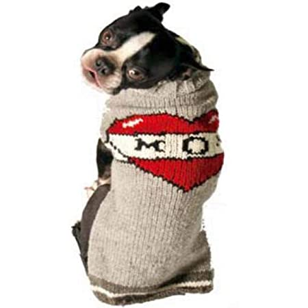 Chilly Dog Tattooed Mom Dog Sweater, X-Large