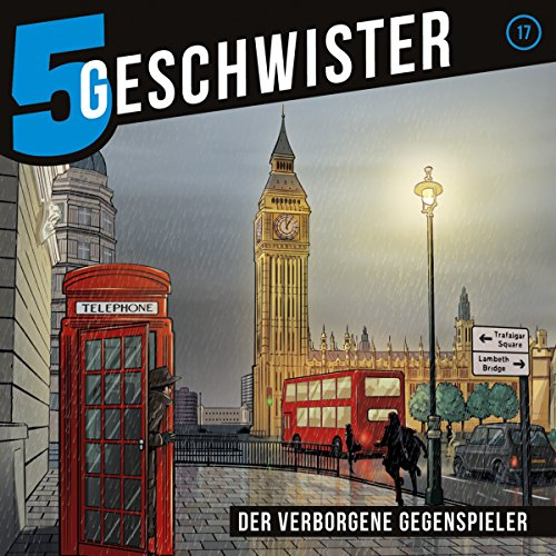 Der verborgene Gegenspieler     5 Geschwister 17              By:                                                                                                                                 Tobias Schier                               Narrated by:                                                                                                                                 Tjorven Lauber,                                                                                        Sarah Stoffers,                                                                                        Fabian Stumpf,                   and others                 Length: 1 hr and 14 mins     1 rating     Overall 5.0