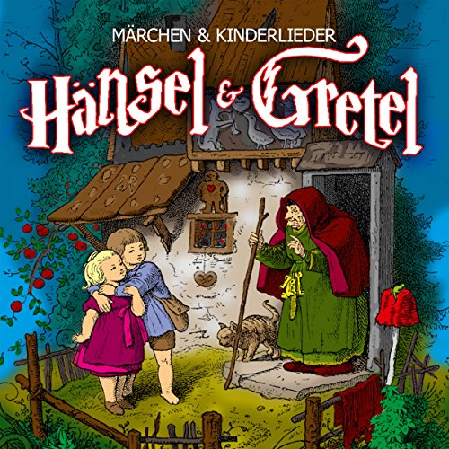 Hänsel und Gretel audiobook cover art