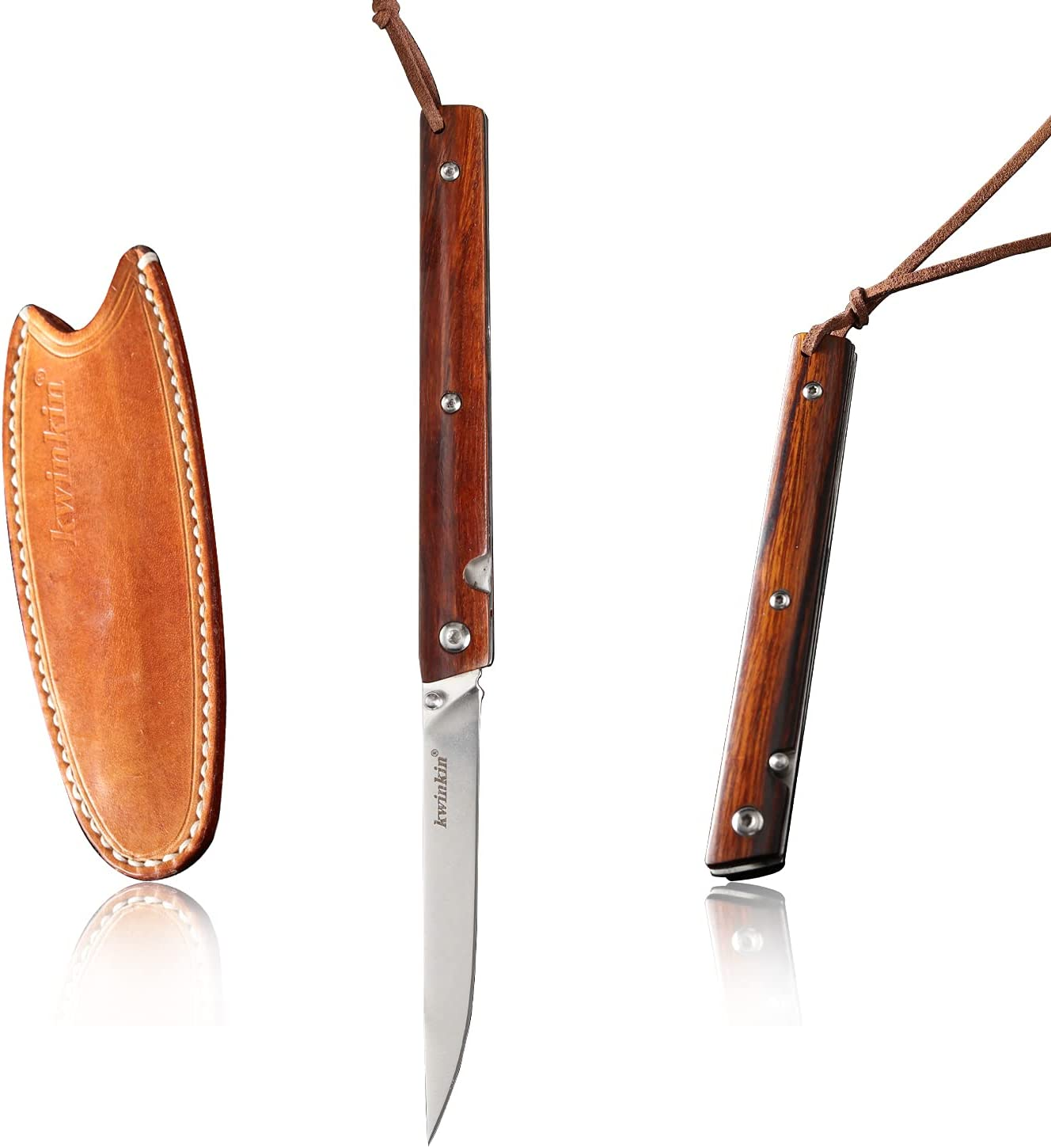 Max 56% OFF KWINKIN Outdoor Camping Knife 3.5