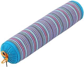 taglia unica Milong grano saraceno Husk collo rotondo cervicale cuscino di sostegno roll Bloster cuscino Rose