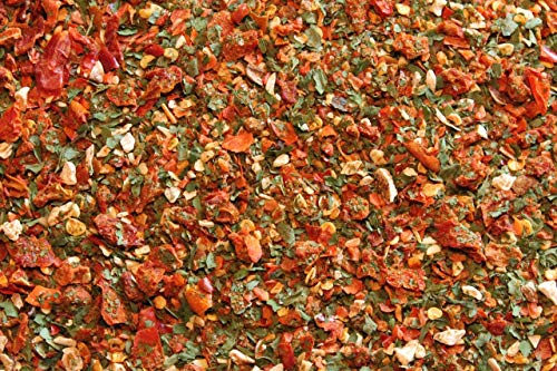 1000Kräuter Arrabiata Gewürz Gewürzzubereitung grob scharf mit Meersalz (500g)