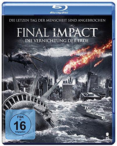 Final Impact - Die Vernichtung der Erde [Blu-ray] [Alemania]