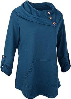 Lovoski Womens Autumnn Fashion Long Sleeve Pullover Hoodie Sweater Sweatshirt Jacket