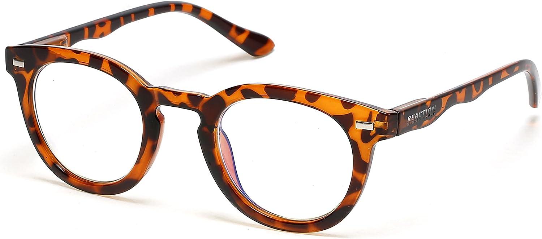 Memphis Mall Kenneth Cole REACTION Kc1500-b Eyewear Prescription Frames Round Charlotte Mall