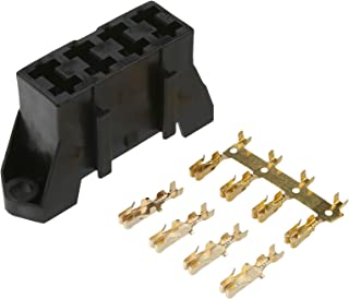 Dorman 85668 Black Fuse Block Holds 4 Blade Fuses