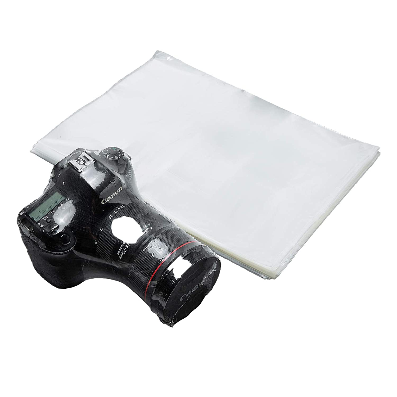 Wowxyz Shrink Wrap Bags Large 10X14 50Pcs Heat Shrink Film Book