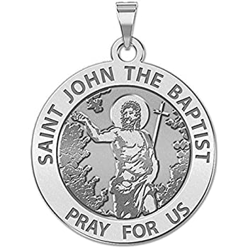 Solid 14K Yellow Gold 3//4 Inch Size of a Nickel PicturesOnGold.com GOD The Father Round Religious Medal