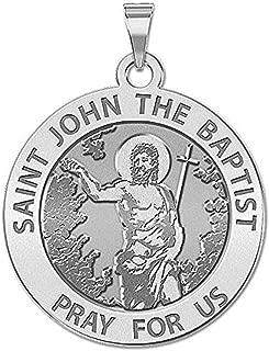 st john the baptist necklace