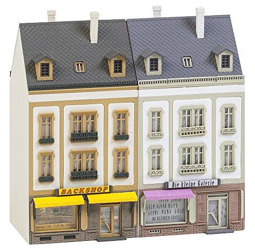 Faller FA 232386 - 2 Reihenhäuser Beethovenstraße, Zubehör für die Modelleisenbahn, Modellbau