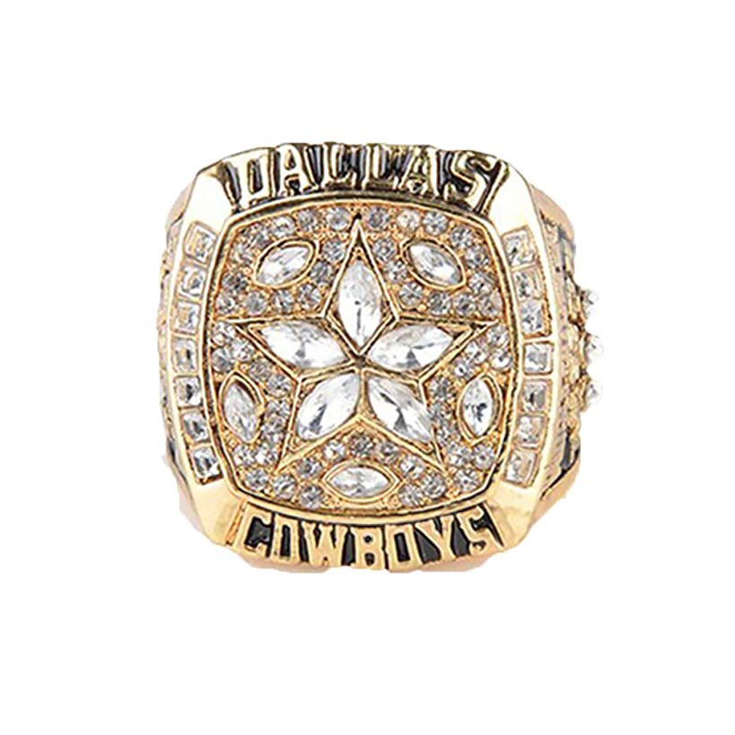 Gloral HIF Dallas Cowboys Supper Bowl Championship Rings Mens Rings with Box 1995 XXX Size 11 Without Box