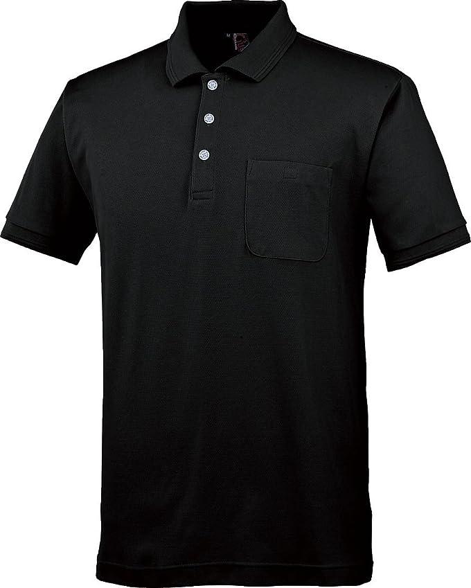 ライフル正気いつCUC 半袖ポロシャツ 黒 Mサイズ 1334