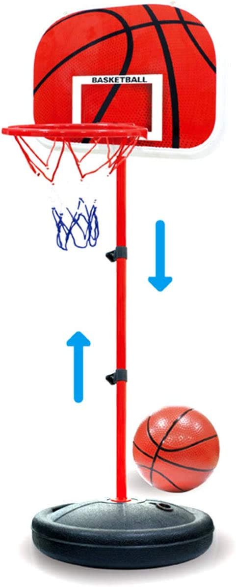 Yunnyp Basketball Stand Outdoor Indoor Seasonal Wrap入荷 2020春夏新作 Sports Adjust Height Iron