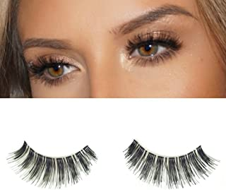 Milanté Beauty Allure False Lashes Wispy Vegan Black Natural Thick Long Full Reusable Fake Strip Eyelashes