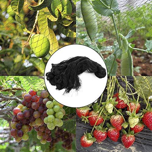 somubi Red anti pájaros para plantas de granja de jardín de malla para frutas, protección para cultivos y plantas de frutas