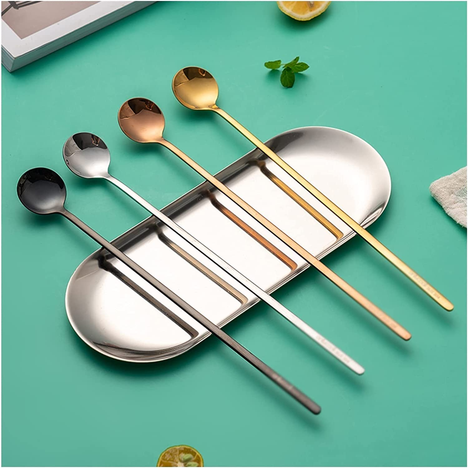 New popularity Tablespoons Soup Spoon Dinner Set Plating Stain of 4 Super special price Pack