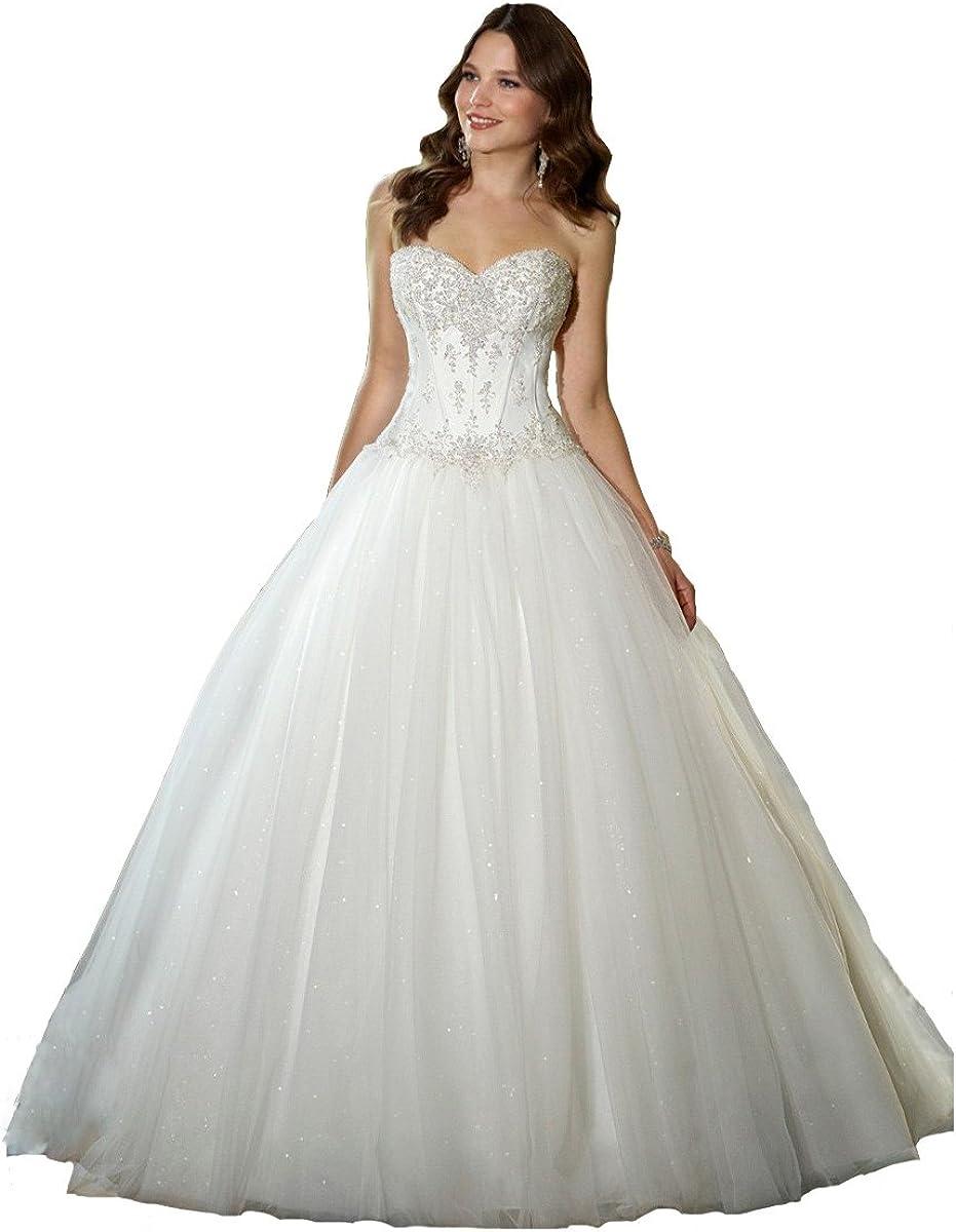 yipeisha Ranking TOP14 OFFer Women Bridal Dresses Sweetheart Corset Cl Bodice Beaded