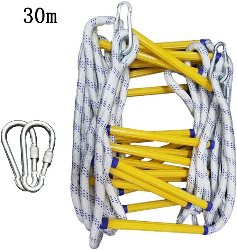 Escaleras de evacuación Escalera de Cuerda de Emergencia ...