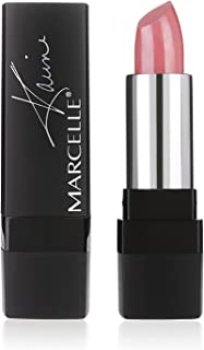 Marcelle Rouge Xpression Velvet Gel Lipstick, Rosy Nude, Hypoallergenic and Fragrance-Free, 0.12 oz