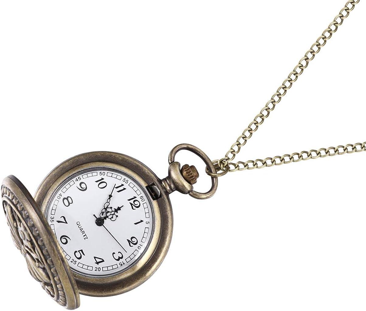 Ranking TOP7 Scicalife Retro Albuquerque Mall Hollowed- out Pocket Watch Quartz Flip Classic W