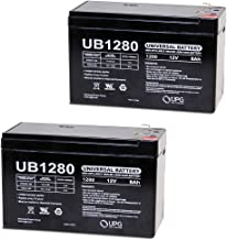 12V 8AH UPS Battery Replaces 7AH 28W Bb Battery SH1228W - 2 Pack