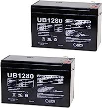 12V 8AH APC Back-UPS ES 750 UPS Battery: Replacement - 2 Pack