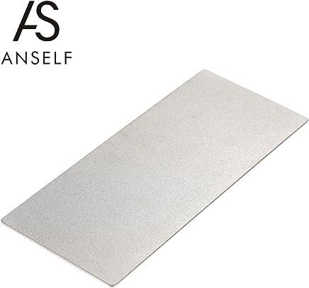 Anself 1000/400 Grit Diamond Whetstone Knife Sharpener Sharpening Grindstone 150631mm (type1)