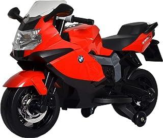Megastar Super Hero Licensed Ride on BMW Motorcycle - 283, Red